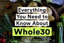 Clean Eats / Whole 30 / Paleo / Whole Food Recipes / Low Carb