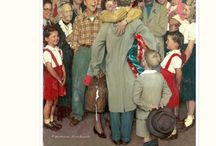 Minor Works of Norman Rockwell / Maybe you're seen some of these.