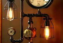 Time Travel Steampunk themed decor / We love steampunk and time travel related decor