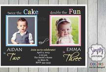 NEXT Birthday / MacKenzie (4) & Parker's (6) Joint Birthday Party!