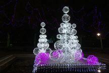Garden Glow / Saint Louis during the Holidays