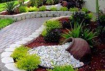 giardino fuori