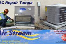 AC Repair Tampa / Airstreamair.com, we are the trusted AC repair service providers in Tampa.