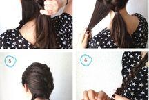 Hair tutorials/ hair
