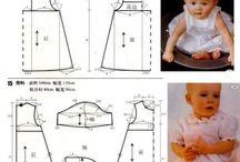 patrones para bebes
