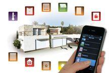 Somfy producten / Diverse producten van Somfy om alles in en om het huis te bedienen, zelfs met een app via de telefoon of tablet.