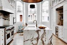 Kitchen & Bathroom.