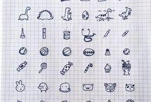 Notebook-uri / Aici vor fi niste idei de desene