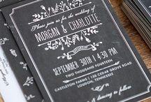 Fun Wedding Themes: Chalkboard Decor Ideas