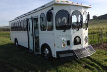 Napa Valley Trolley Supreme / Our new limousine Trolley Supreme.