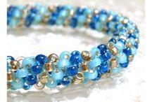 Beaded jewellery / bead woven forms