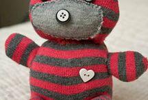 Socks teddy bears