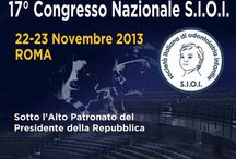 "17th S.I.O.I. National Congress (Rome, November 22-23, 2013) / The 17th S.I.O.I. National Congress, under the patronage of Republic's President at Auditorium Antonianum (Rome, November 22-23, 2013), biennial meeting for scientists, academics and professionals in ""Child Odontology"". A Triumph Group International event. Official website: sioi.it"