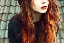 new ideas for reddish hair