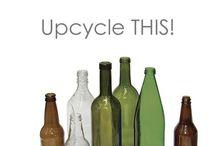 Bottles, jars & glass