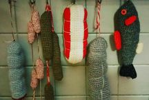 crochet dinette