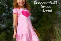 Sewing for girls / Girls outfits/skirts/dresses/accessories tutorials and patterns