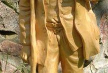 statuette legno bellissime