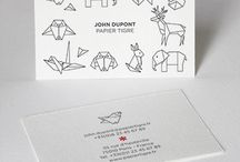 Business cards / Business cards inspiration