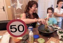 Sarah / Abraham verjaardag 50 jaar idee? Koken met Kookparty! / Het leukste verjaardagsfeest idee, koken met Kookparty. Kies uit diverse menus of themaworkshops. www.kookparty.com