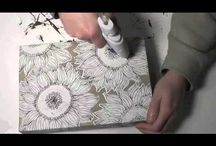 art videos: art, crafts, creative stuff / by Susie Carranza Studio