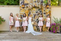 F&B | Bride and Bridesmaids