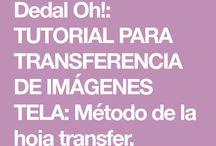 Transferencia tela