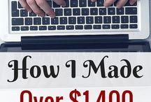 Blogging Ideas / Tips and tricks for making money blogging