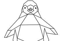 geometryczne zwierzaki