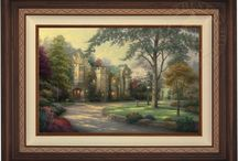 Thomas Kinkade Artwork / Limited Edition Thomas Kinkade Artwork