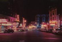 old school street scenes/postcards / by Annie Belle
