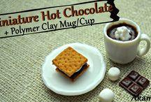 Miniature hot chocolate