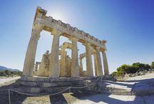 Temple of Aphaia - Aigina Island Greece