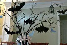 Gotik& Halloween ev dekorları
