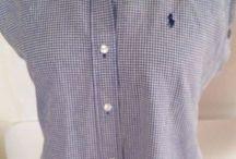 Women's Ralph Lauren Polo blue eve Dress Shirt 2