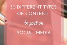 Content help / Choosing the right content for your blogging or Social Media can sometimes be a headache, this board will be your paracetamol!