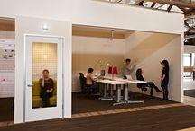 Semi private fixed desks