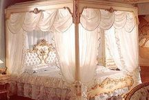 bedrooms / by Joy Ashley