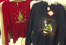 """Ugly"" Christmas Sweaters / #UglyChristmasSweaters are festive conversation starters at any #Christmas party or holiday event. / by Goodwill Keystone Area"