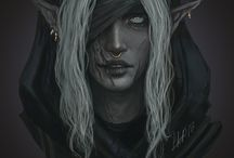 ELF • Drow • Female
