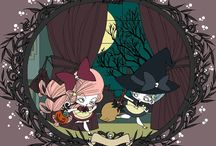 Witches / character design by kitty-la-peste