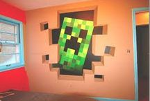 Zack's Minecraft Room Ideas
