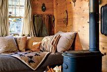 Camp forestier / Ambiance et décor
