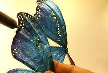 fare ali farfalla