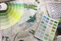 Pantone Greenery Wallpaper