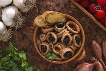 Secondi piatti con olive...