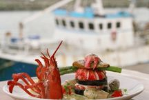Food from the Sea / Ireland is an island surrounded by a natural resource the sea. Full of wonderful treasures you can put on your plate.