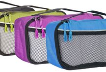 Packing Cubes 4pcs Value Set for Travel - 4 Slim Size Bago's Cubes / SAVE TIME AND STRESS finding your items and packing your luggage especially when you have a plane to catch, the packing cubes help you get done in a jiffy. KEEP YOUR HOTEL ROOM TIDY AND SPACIOUS - just put the cubes inside the closet and drawers and avoid the clutter; Do not live off your luggage and locate any item easily! PROTECT