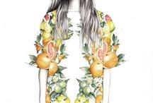Ilustrasi model pakaian