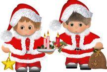 Santa i elfy